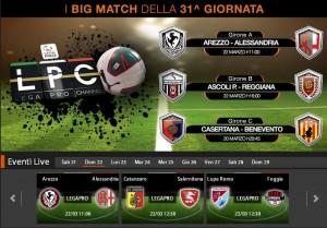 Arezzo-Alessandria: diretta streaming Sportube. Info, link e formazioni