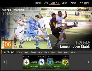 Aversa-Martina Franca: diretta streaming Sportube su Blitz, ecco come vederla