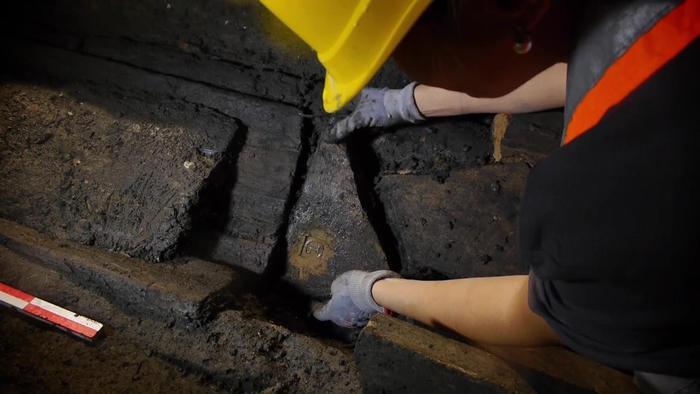 Roma: Mura Aureliane, 80 metri mai visti tornano alla luce durante scavi Metro C