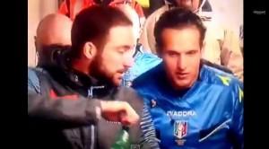 """Video Youtube. Banti a Higuain, labiale sembra: """"La Roma finisce sotto"""""""