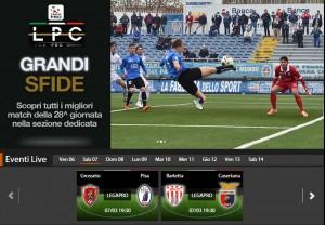 Barletta-Casertana: diretta streaming Sportube, ecco come vederla