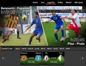 Benevento-Paganese: diretta streaming Sportube su Blitz. Info e formazioni