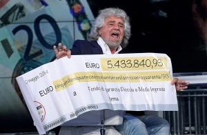 Beppe Grillo, reddito: 7500 euro al mese, 4 case e due vecchie automobili