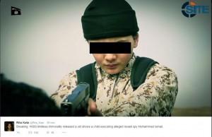 """Isis, bambino killer è francese: ha giustiziato """"spia Mossad"""""""