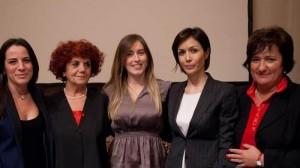 Pd applaude Mara Carfagna e non Maria Elena Boschi al convegno Pari Opportunità
