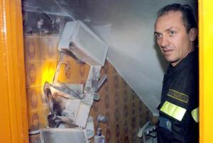 Caronia, incendi inspiegabili: Giuseppe Pezzino arrestato, il padre indagato