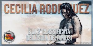 Isola dei Famosi: Cecilia Rodriguez eliminata, Brice Martinet finalista