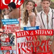 Belen Rodriguez e Stefano De Martino, la copertina di Chi