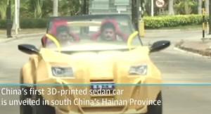 Cina, auto elettrica realizzata con stampante 3D: costa 1600 euro