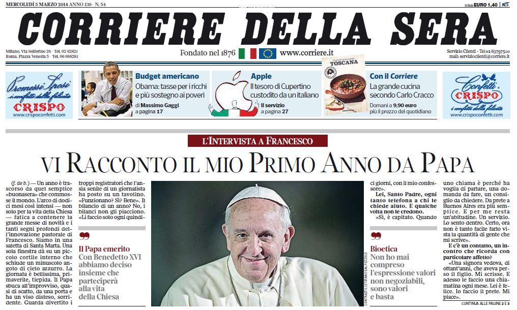 Corriere della sera digital edition la chiamano ma farvi abbonare non sanno blitz quotidiano - Corriere della sera cucina ...