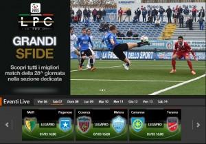 Cosenza-Matera: diretta streaming Sportube, ecco come vederla