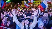Festeggiamenti in Crimea