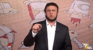 """VIDEO YouTube Maurizio Crozza: """"Poletti, problema dell'Italia sono ragazzi al mare"""""""