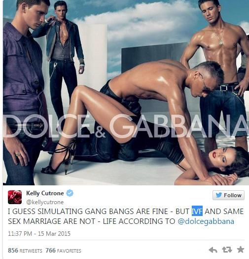 Dolce & Gabbana, la pubblicità con gang bang del 2007 FOTO
