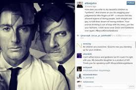 Il post di Elton John