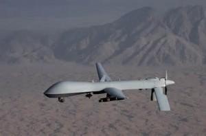 Un drone Usa armato
