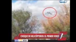Video YouTube. Dropped, filmato dello schianto dei due elicotteri