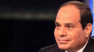 Il presidente egiziano Abdel Fattah Al Sisi