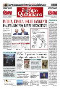 """Marco Travaglio sul Fatto Quotidiano: """"Scemo chi non legge"""""""