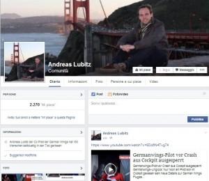 Andreas Lubitz: la passione per la corsa e la musica elettronica