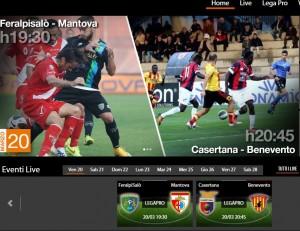 FeralpiSalò-Mantova: diretta streaming Sportube. Info, link e formazioni