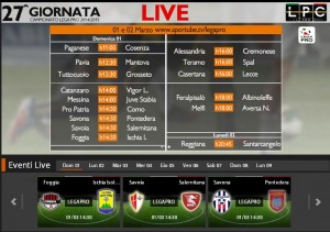 Foggia-Ischia: diretta streaming con Sportube su Blitz, ecco come vederla