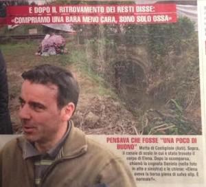 Michele Buoninconti, l'articolo di Giallo