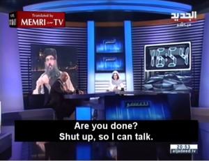 """VIDEO YouTube. Islamista a giornalista: """"Zitta donna"""". Lei chiude collegamento"""