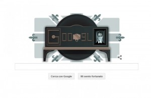 Prima dimostrazione di televisione: il Doodle di Google