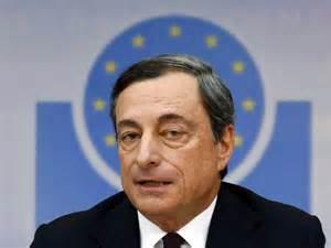 Il Governatore della Bce Mario Draghi