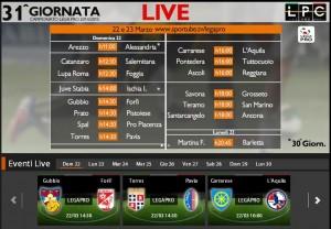 Gubbio-Forlì: diretta streaming Sportube. Info, link e formazioni