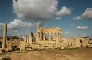 Un sito archeologico a Sirte
