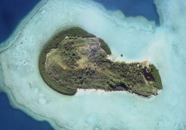 Mavuva, in vendita l'isola delle Fiji a forma di pene
