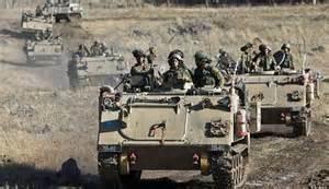 Manovre militari israeliane
