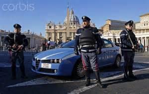 Poliziotti a Roma