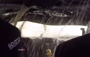 VIDEO YouTube - Tanak finisce nel lago: incidente visto da dentro auto