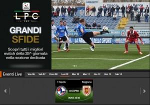 L'Aquila-Reggiana: diretta streaming Sportube, ecco come vederla