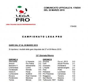 Lega Pro, giudice sportivo: 5 giornate a Moscardelli, 2 Lepore e Di Chiara