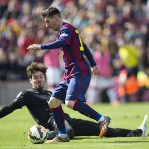 VIDEO YouTube Leo Messi tripletta e raggiunge Cristiano Ronaldo