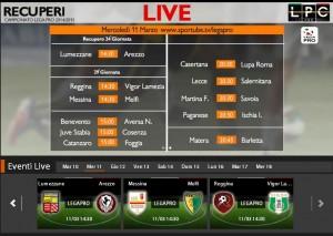 Lumezzane-Arezzo: diretta streaming Sportube, ecco come vedere il recupero