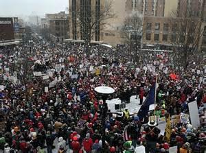 Protesta a Madison