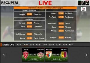 Mantova-Bassano: diretta streaming Sportube, ecco come vederla