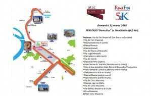 Maratona di Roma domenica 22 marzo 2015: mappa strade chiuse e bus deviati