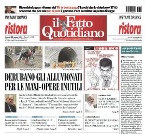 """Marco Travaglio sul Fatto Quotidiano: """"Lupi perde il pelo ma non il vizio"""""""