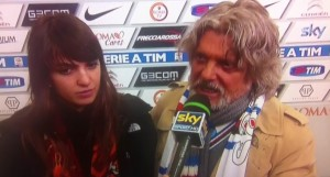 "VIDEO YouTube Massimo Ferrero: ""Amo Mihajlovic"". Replica: ""Io amo mia moglie"""