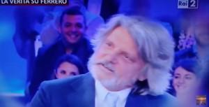 """VIDEO YouTube Massimo Ferrero canta """"Passerotto"""" e """"senza te"""" per Mihajlovic"""