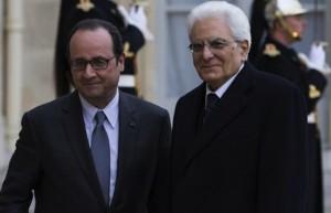 """Mattarella in Francia: """"Insieme avanti tutta su Libia, Tav, crescita"""""""