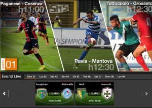Paganese-Cosenza: diretta streaming su Sportube, ecco come vederla