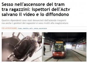 Stazione di Mestre, sesso nell'ascensore: dipendenti mettono video su Whatsapp