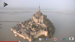 Video YouTube: a Mont Saint Michel  arriva la marea del secolo